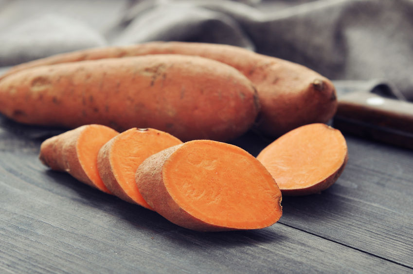 Consumers are shunning sweet potatoes for the convenience and ease of standard British potatoes