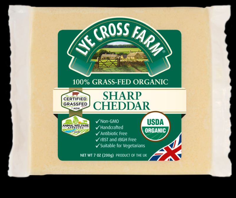 Lye Cross Farm will export its organic cheddar to the US