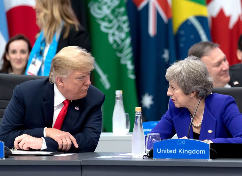 The US has outlined its aims for a post-Brexit deal which could open the UK food market to products such as chlorinated chicken (Photo: Jacques Witt/SIPA)