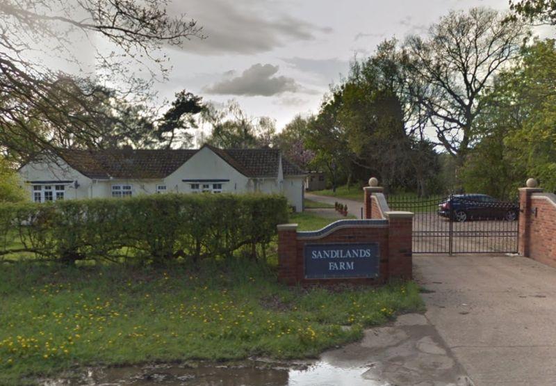 Around 200 vegan activists stormed the Lincolnshire-based farm (Photo: Google)