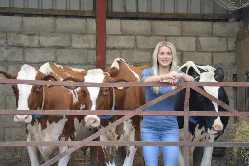 The showmanship classes will be judged by Isobel Jones who works for Holstein International