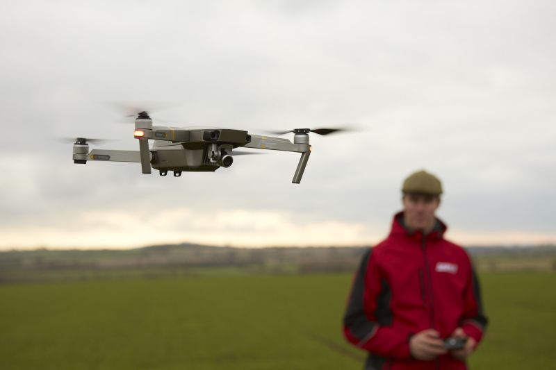 Drone technology is developing fast and already offers farmers exciting possibilities