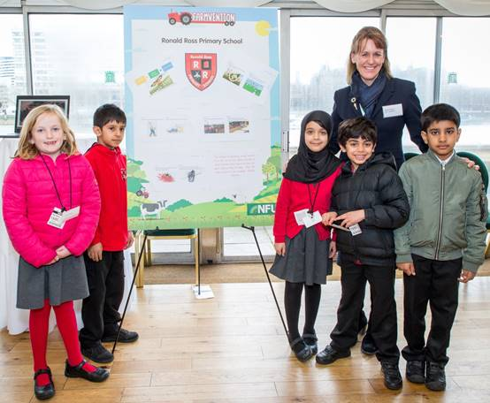 A teacher at the winning school said pupils didn't know much about farming before the projec