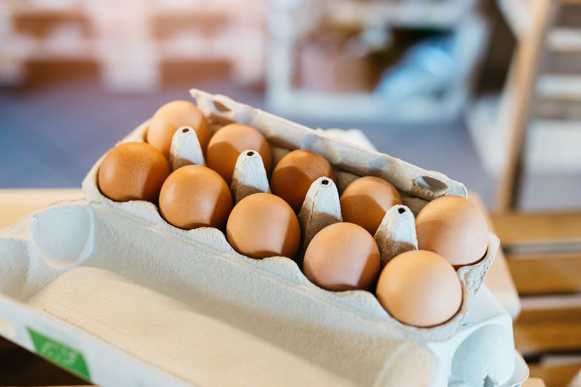 According to the Soil Association, organic eggs now accounted for eight per cent of the egg sector