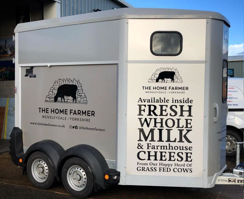 The vending machine will be ready to start touring Wensleydale (Photo: The Home Farmer/Facebook)