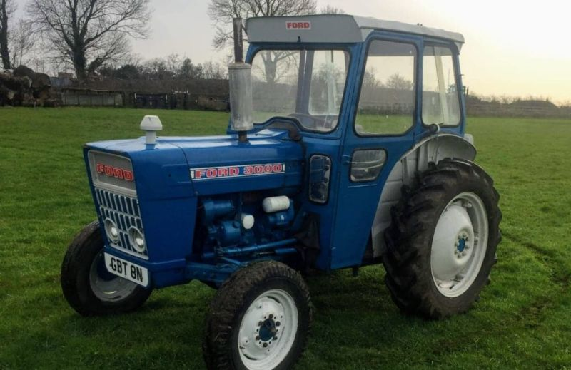 First prize is a 1974 Ford 3000 Tractor