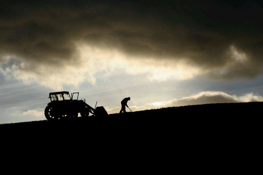 The NFU said the farming industry is in an 'intolerable situation of extreme uncertainty'