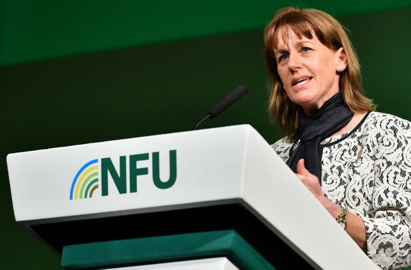 Unreasonable notices can significantly impact farmers' businesses, NFU President Minette Batters says