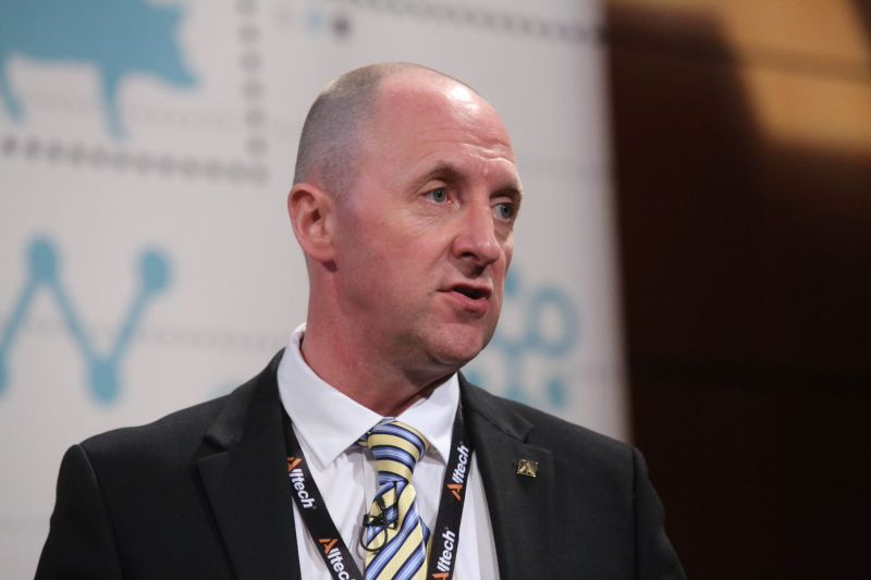 Industry collaboration is key to solving environmental challenges, a summit heard (Photo: Ian Leach, Alltech's retail programmes manager)