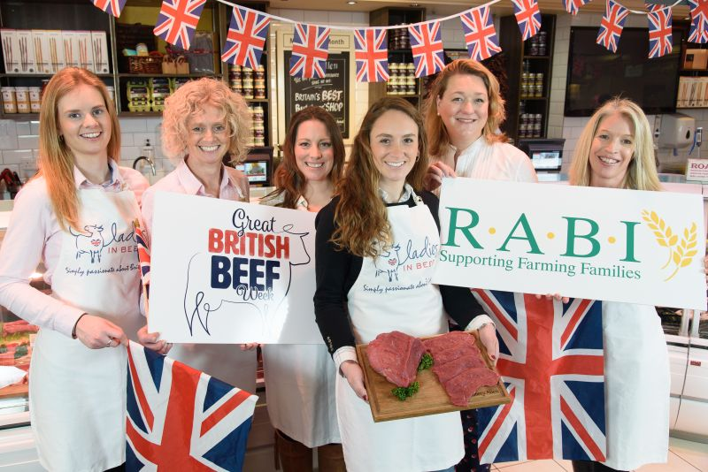 The initiative is in its ninth year and comes at a significant time for world trade of British beef