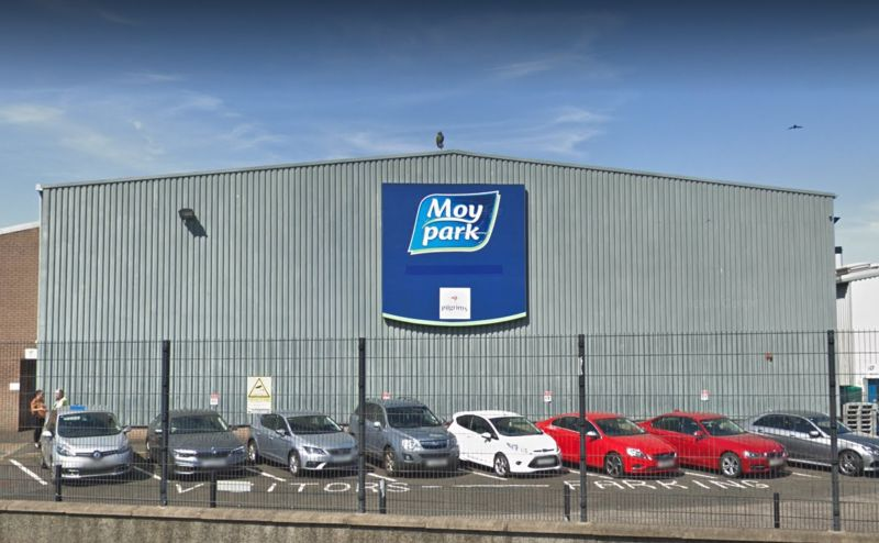 A key production line at Moy Park's Ballymena poultry plant will temporarily close down until 2020 (Photo: Google)