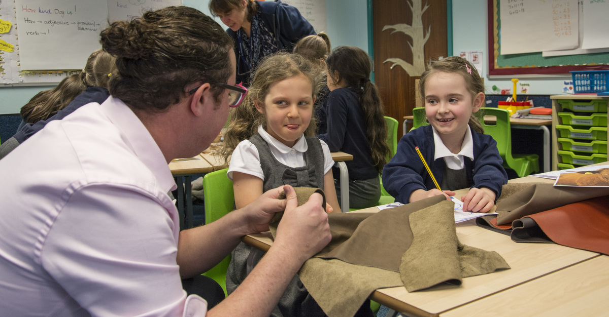 Over 200 teachers have been trained by the NFU to deliver the work in primary schools
