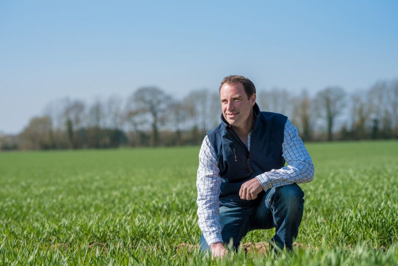 Richard Ling runs the Diss Monitor Farm and is one of England's new hosts