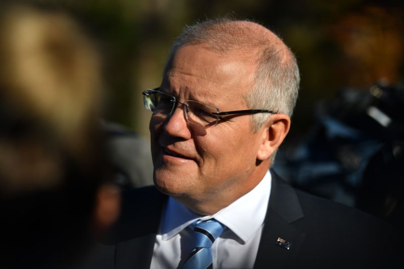 Australian Prime Minister Scott Morrison promised the tough sentences if re-elected in upcoming federal elections in May (Photo: MICK TSIKAS/EPA-EFE)