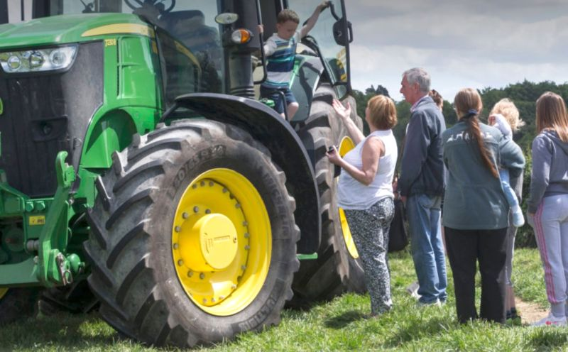 This year's Open Farm Sunday takes place on 9 June
