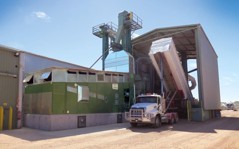 Alvan Blanch has its dry drying systems in every continent, including this one in Australia