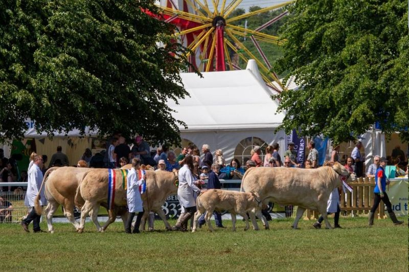 A sheep exhibitor said the four-day event meant an extra day off work for her, which is lost income