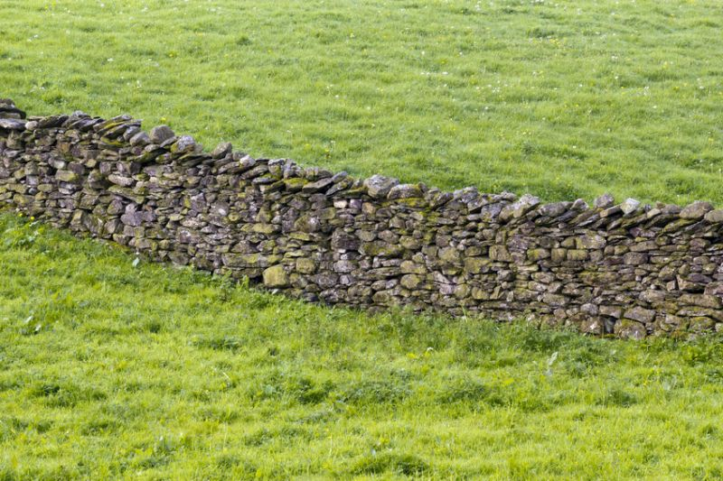 Fife-based farmer James Orr removed six miles of drystone dykes from his farm (Stock photo)