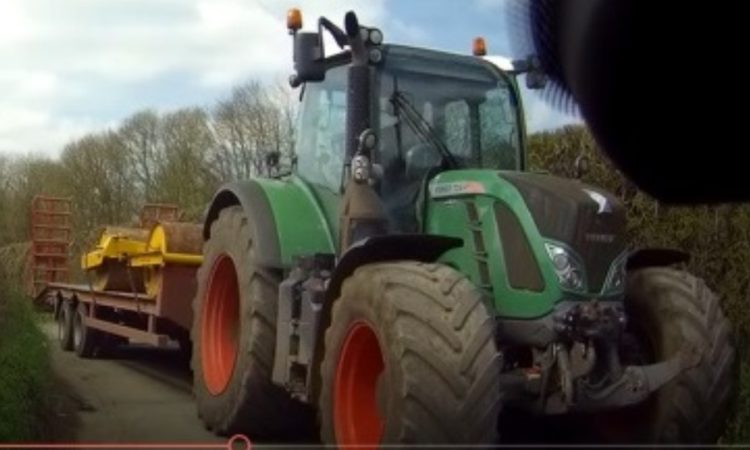 Police have issued a picture of the tractor involved in the collision