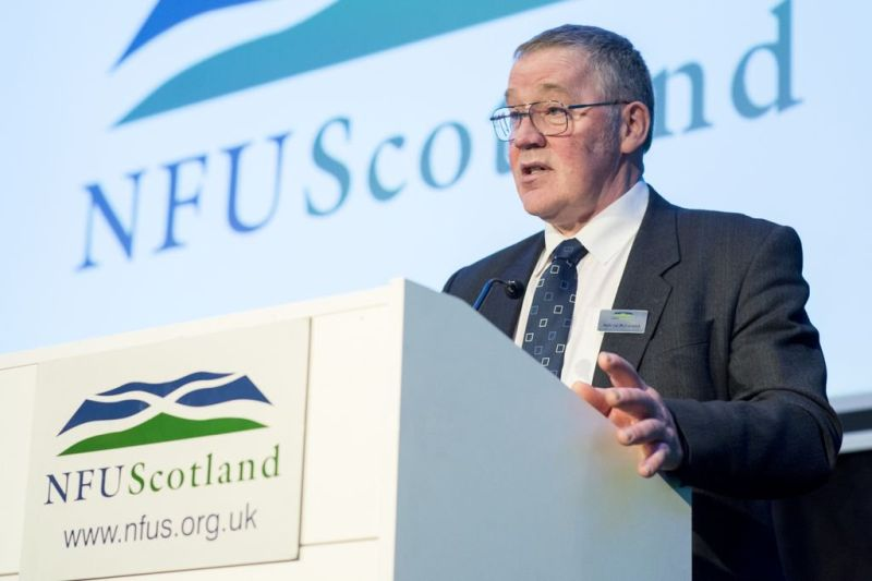 NFU Scotland President Andrew McCornick said the union is pushing government for free and frictionless trade