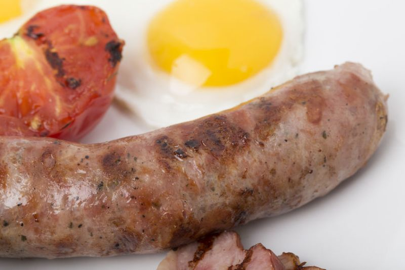 The plant-based medical group said bacon and sausages causes 'harm and shortens lives'