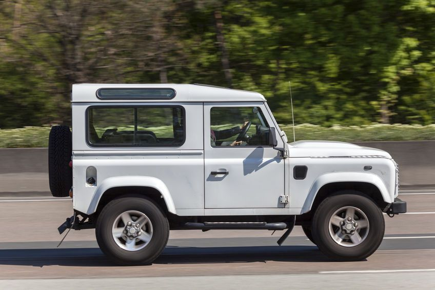 The last three of the registration of the stolen Land Rover are KMU (Stock photo)