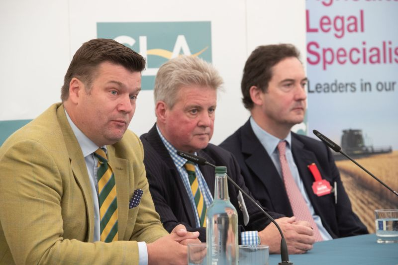 Industry leaders gathered at the CLA Breakfast during the Royal Bath and West show