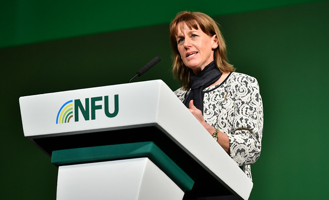 The traditionally male-dominated farming industry is 'changing', the NFU President said