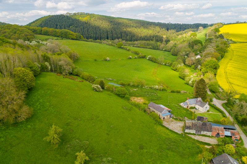 The holding is split into five lots, totalling just over 62 acres