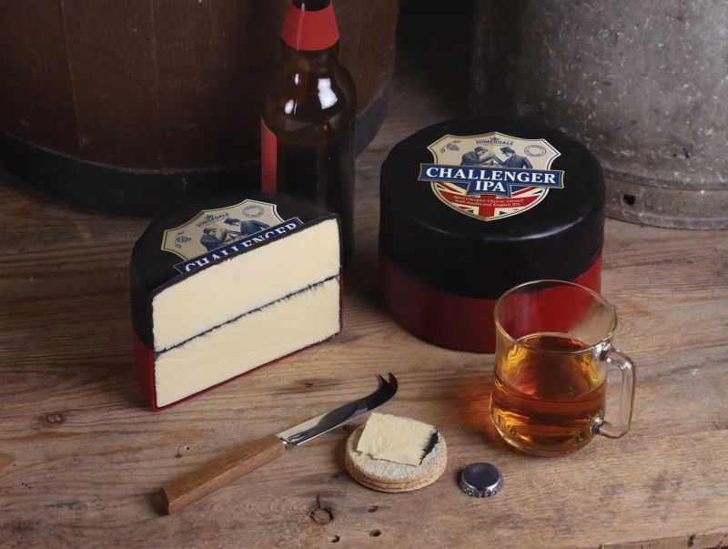 Somerdale International is the largest importer of British cheeses into the US