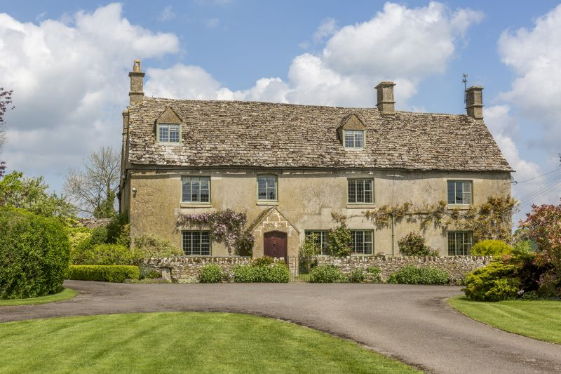 The Cotswolds farm comes with a Grade II farmhouse