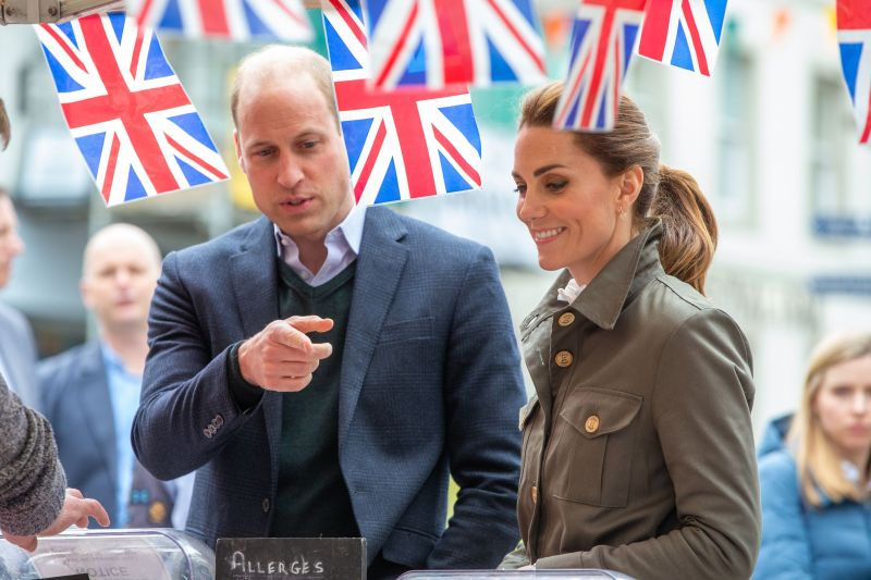 The Duke and Duchess of Cambridge visited the Cumbrian farming community and quizzed them on the impact Brexit will have on business