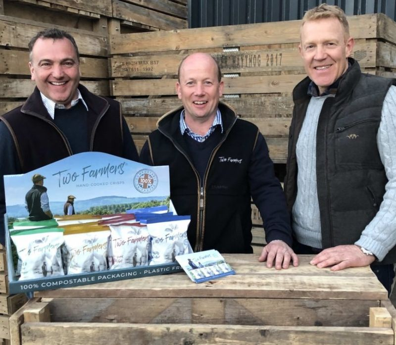 In April, BBC One's Countryfile team paid a visit to the farmers to find out more about their sustainable crisp enterprise