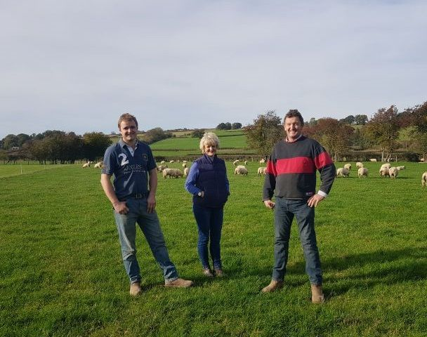 A Welsh farming family are pushing their boundaries by experimenting with new climate-smart swards