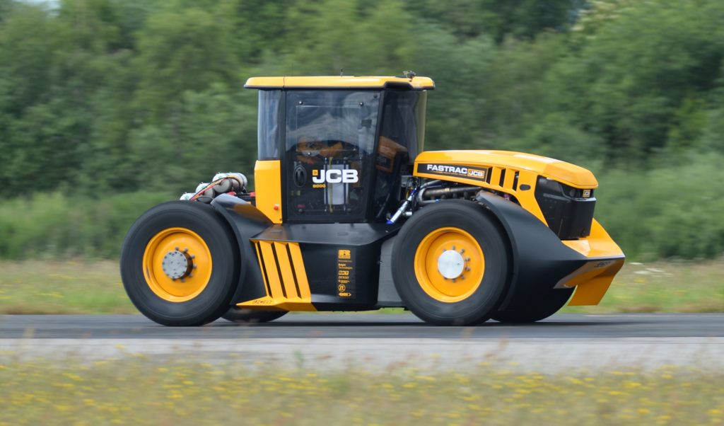 JCB is no stranger to land speed records