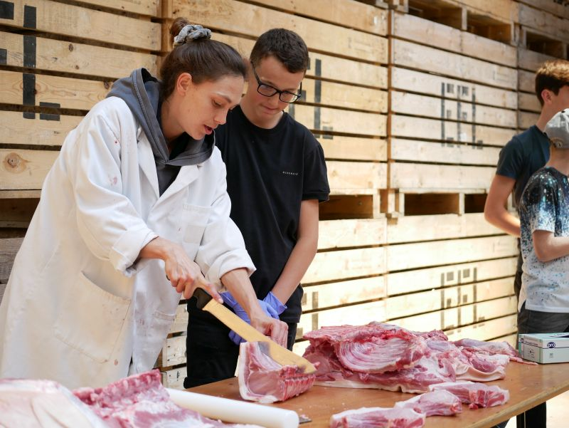 The event also saw cookery and butchery demonstrations from local chefs