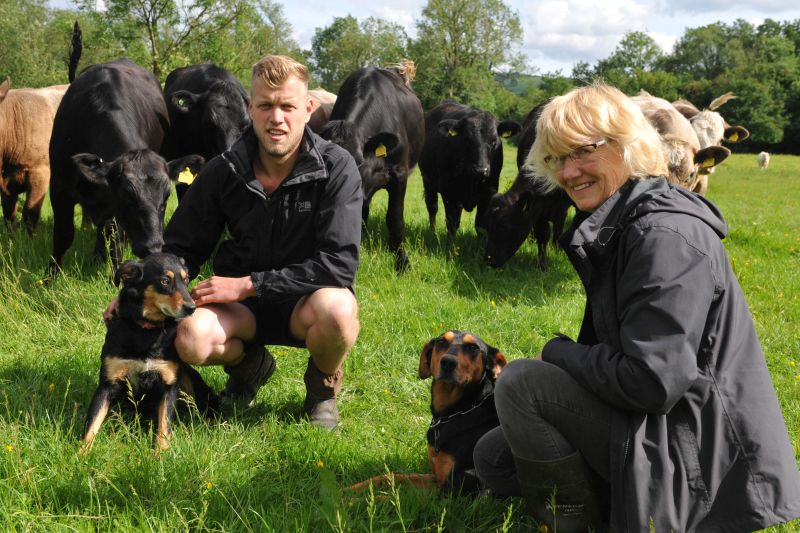 Share farming has created opportunities for a Carmarthenshire farm owner and a young new entrant