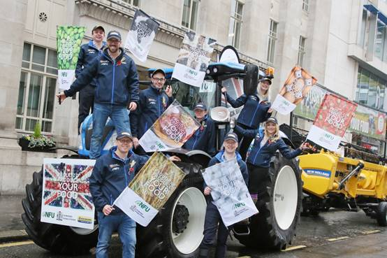 The ambassadors will represent British farming at the Lord Mayor's Show in London