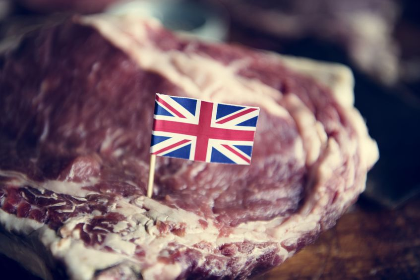 Welsh red meat exports could be 'at risk' if the UK leaves the EU with 'no deal' in October, the sector has warned