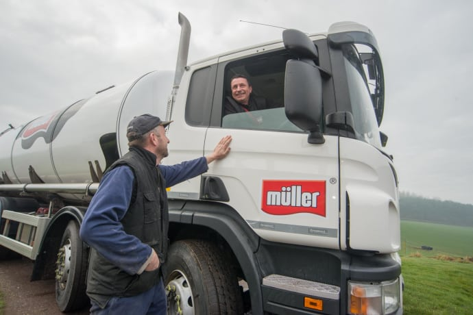Most dairy farmers who supply Foston will be unaffected with milk switched to be processed at other dairies, according to Muller