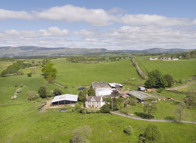 The farm has around 238.67 acres of arable and pasture land