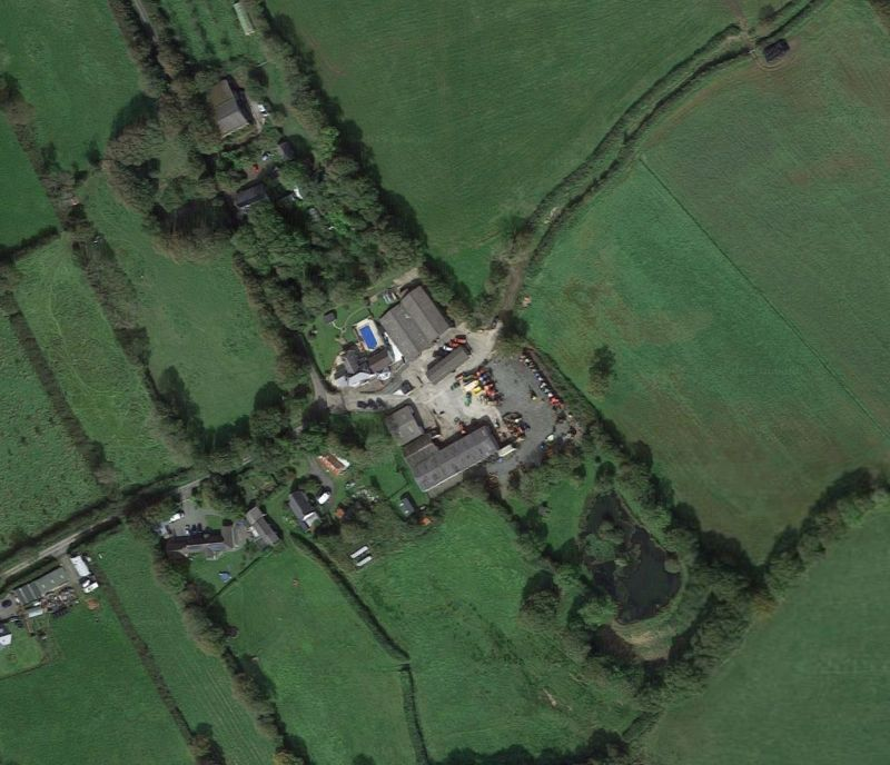The man died on Killatree Farm, in North Devon (Photo: Google Maps)