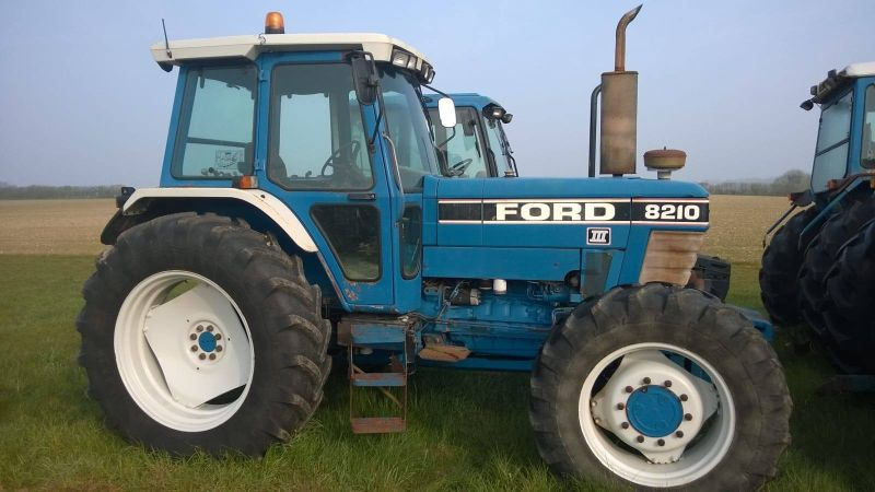 Thieves have stolen a light blue Ford 8210 Generation 3 Super cab from a Spetisbury farm