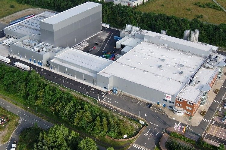 The investment has doubled the size of the dairy company's current Telford site