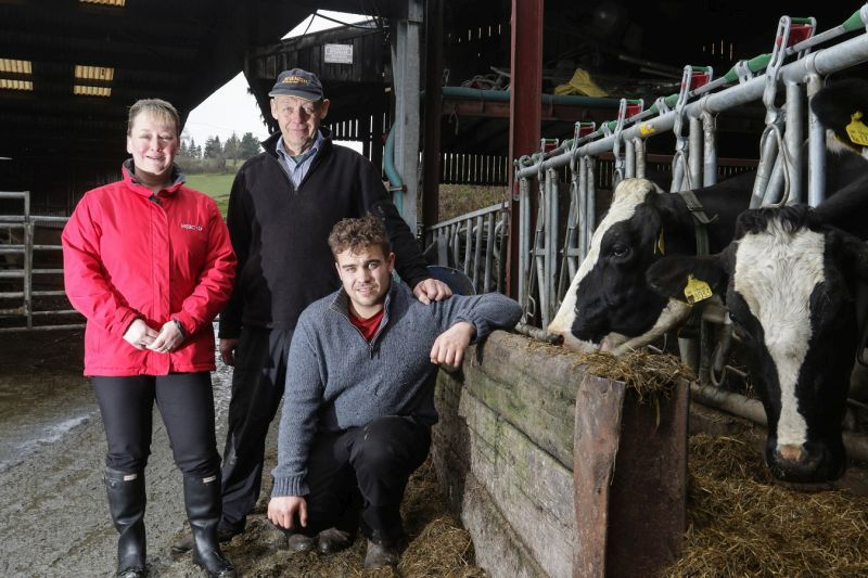 Glenn Lloyd and his father used the fund to support their move to meet growing demand for organic milk