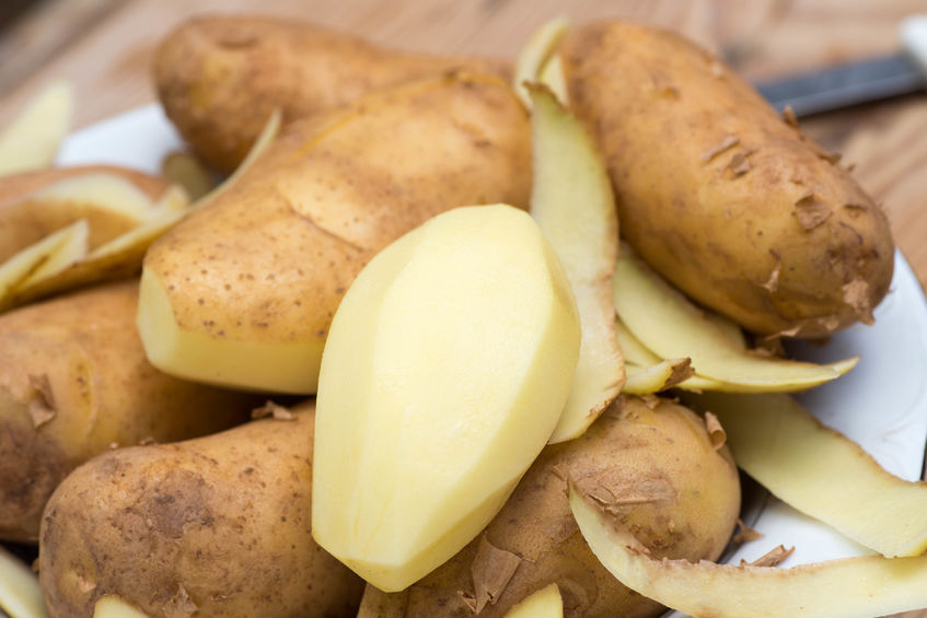 Sugar beet, potatoes and carrots made up more than half of the overall waste by weight