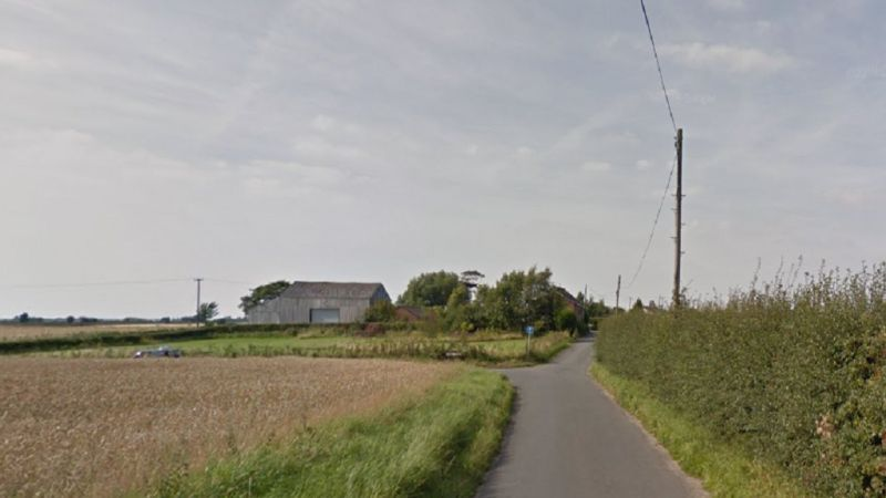 The incident happened on Back Lane in Aughton, Lancashire (Photo: Google Maps)