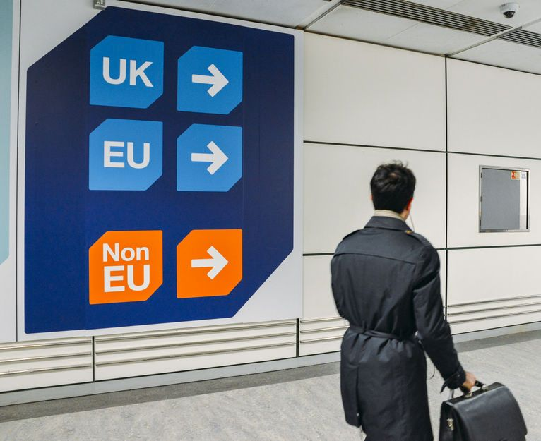 The poster campaign at UK airports and ports adds to an already set of strict control measures