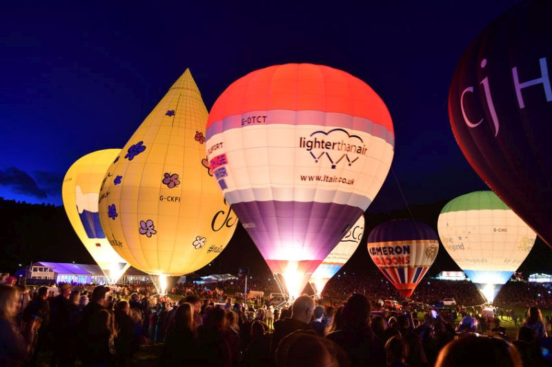 The Bristol Balloon Fiesta is a 'fantastic opportunity' to share passion for food and farming, the NFU says