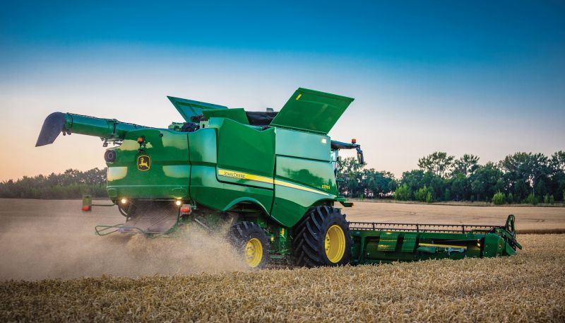 The agricultural giant has announced a number of updates for its combine harvesters